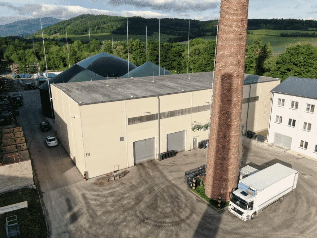 Bioplynová stanice stanice Rapotín