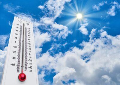 Průměrné teplotní výkyvy