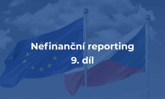 ČR je u tvorby evropských standardů reportingu udržitelnosti